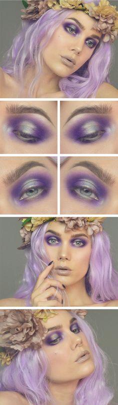 Super Creative Makeup Looks Fantasy Linda Hallberg 57 Ideas Makeup Inspo, Makeup Art, Makeup Inspiration, Makeup Tips, Makeup Ideas, Pastel Makeup, Daily Makeup, Skull Makeup, Makeup Geek
