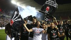 Besiktas Claim Turkish League Title - Besiktas have claimed their Turkish Spor Toto Super Lig title after defeating Gaziantepspor on Sunday evening Ryan Babel, Black Eagle, Another Love, Bernardo, Champions League, Victorious, Two By Two, Football, Black And White