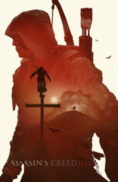 Assassin's Creed 3 Poster by BigBadRobot on Etsy.