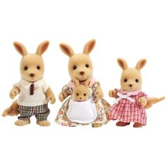 Was £16.99 > Now £14.40. Save 15% off Sylvanian Families Kangaroo Family #2StarDeal, #DollsAccessories, #DollsHouseDolls, #DollsHouseDollsAccessories, #Toys, #Under25