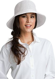 Coolibar UPF 50  Women's Marina Sun Hat - Sun Protective * Check this awesome image @ http://www.amazon.com/gp/product/B005085XBS/?tag=passion4fashion003e-20&kl=290716173652