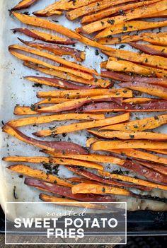 Roasted Sweet Potato Fries | PepperDesignBlog.com