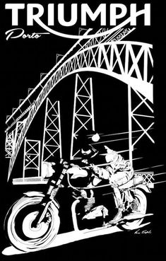 The passion of Triumph. Bike Poster, Motorcycle Posters, Motorcycle Art, Bike Art, Triumph Bikes, Triumph Bonneville, Triumph Motorcycles, Triumph Logo, British Motorcycles