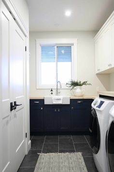 Very Merry Christmas, Christmas Home, Laundry Rooms, Double Vanity, House Tours, Happy Holidays, New Homes, Interior, Decor