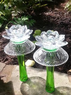 vases w/bowls