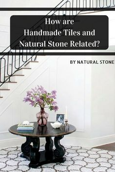 Learn more about what handmade tiles and natural stone have in common, the types of handmade tiles and more...  #mosaic #handmadetiles #home #interior #naturalstone #decor #marble #travertine #limestone #granite