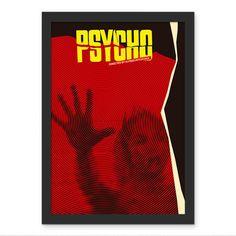 Poster Psicose Chuveiro - Hitchcock - AntiMonotonia Store