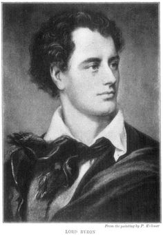 Lord Byron, one of the greatest poets in British history. He published his first collection of poems at 19, traveled the world, slept with everyone that stayed still long enough, and then for good measure funded and participated in the Greek war for independence from the Turks. Also, as a college student he kept a bear as a pet, just because he could.