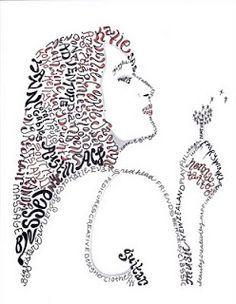 Butterfly Word Art Calligram | Zen, drawing | Pinterest ...