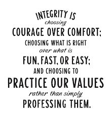 Image result for brene brown integrity is
