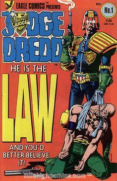 #JudgeDredd. #Comics. #2000AD