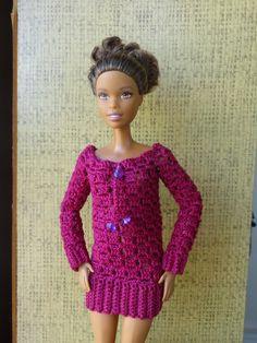 Фотографии Одежда для кукол крючком и прочие мелочи