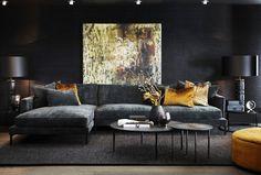 Aspen, Interior Decorating, Interior Design, Living Room Inspiration, Trondheim, Apartment Living, Farrow Ball, Decoration, Feng Shui
