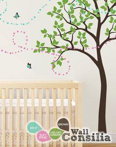Tree Wall Decal   Nursery Wall Decoration  Tree by WallConsilia, $85.00