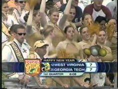 (2007 Gator Bowl)--WVU vs. Georgia Tech--2/11