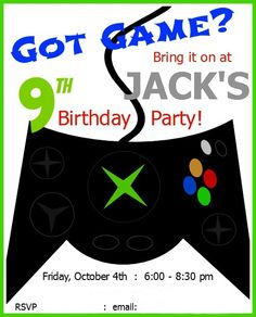 Xbox Controller Party Bag Favor