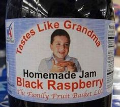 Tastes like grandma Funny But Real Products Stupid Names funny product names products strange products lost in translation funny signs worst tattoos awkward bad family photos ellen weird crazy you had one job Worst product names bad product names