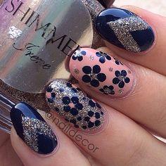 Instagram photo by naildecor  #nail #nails #nailart #unha #unhas #unhasdecoradas