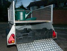 Ifor Williams P5e Trailer Ivor, Mesh Sides, Removable Deck, Cover, Ramp | eBay