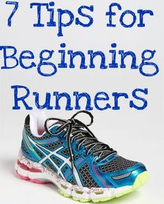 7 Tips for Beginning Runners. These are great tips that seem like common sense b… 7 Tips for Beginning Runners. These are great tips that seem like common sense but are still good reminders. Running For Beginners, Running Tips, Running Shoes, Start Running, Fitness Diet, Fitness Motivation, Health Fitness, Exercise Motivation, Fitness Goals