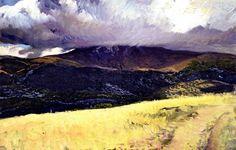 Joaquín Sorolla y Bastida, Storm over Peñalara, Segovia, 1906