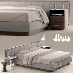 Кровать FLOU LETTO ERMES