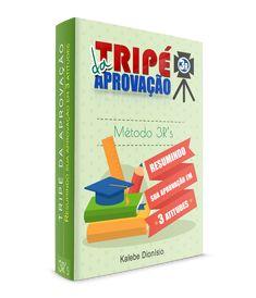 Ebook Grátis Tripé da Aprovação. Nesse ebook, Kalebe Dionísio fala sobre sua técnica que desenvolveu para, com apenas 22 anos, ser Aprovado e NOMEADO em 10 Concursos Federais...