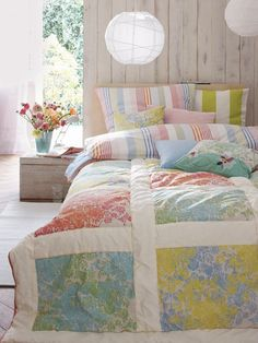 pastels in the bedroom #summer #pastels #decoration