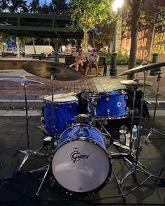 "Gretsch Drums on Instagram: ""Do you love this setup as much as we do? #repost • @percusshaun Downtown Redlands with @thejazzcartel trio tonight! A huge thanks to…"""