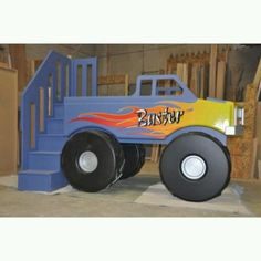 Monster Truck Grave Digger Bed From Gabriels Special