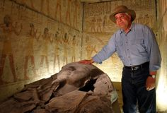 Dr. Zahi Hawass, Egyptologist & archaeologist. I would love to know this man!  He is one of my idols.
