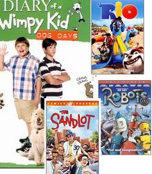 Diary of a wimpy kid book series hilarious book series kmart dvds deals rio diary of a wimpy kid rodrick rules ice age solutioingenieria Images