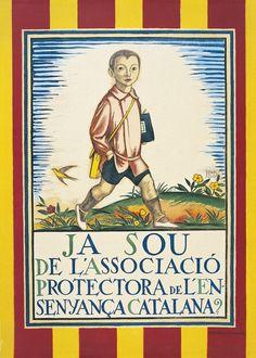 Ja sou de l'Associació Protectora de l'Ensenyança Catalana? Josep Obiols, 1921