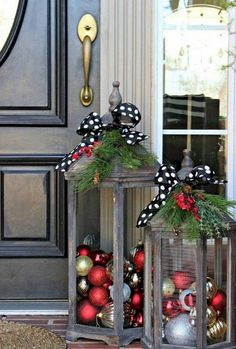 42+ Stunning Outdoor Christmas Decoration Ideas #decoration #decoratingideas #decoratinghome