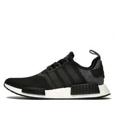 8d44dfd74 Adidas NMD R1 Wool Heel Black Grey Trainers