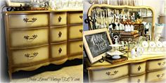 twicelovedvintagetlv.com French provincial 9 drawer dresser