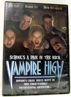 Vampire High School s A Pain In The Neck DVD Horror Movie Buffy Twilight Fan
