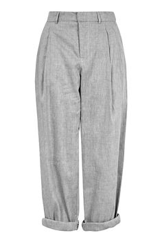 Linen Mensey Trousers by Boutique - Trousers & Leggings - Clothing - Topshop…