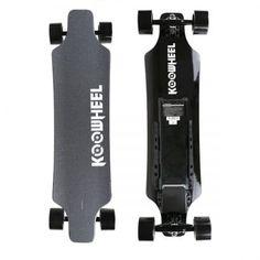 KooWheel Onyx Edition Electric Skateboard - Upgraded Battery & Dual Hub Motors & Wireless Remote and 25 MPH Max Speed Skateboard Bearings, Cool Skateboards, Look Good Feel Good, Black Wheels, All In One, Walmart, Bike, Amazon