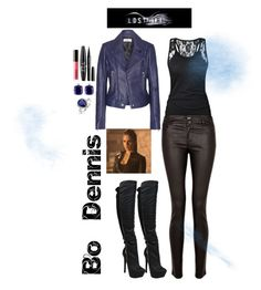 Bo Dennis (Lost Girl) by rhianna-shirley on Polyvore featuring Balenciaga, Paige Denim, Miadora, Bling Jewelry, NYX, Marc Jacobs and LORAC