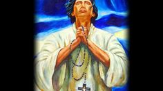 """Saint Lorenzo Ruiz was the first Filipino Saint. He was also the """"protomartyr"""" of the Philippines. He was killed for his refusal to leave Japan, and renounce his Catholic belief during the persecution of Japanese Christians during the Tokugawa Shogunate."""