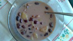 Fotorecept: Kyslá fazuľová polievka s udeným mäskom