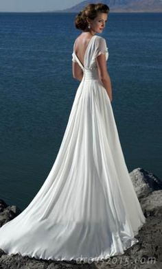 The back of that dress is gorgeous isn't it?
