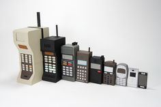 The history of mobile phones...pretty interesting!