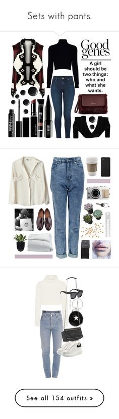 """""""Sets with pants."""" by ironicway ❤ liked on Polyvore featuring Jack Wills, MANGO, WearAll, J Brand, Witchery, Lord & Berry, Topshop, NYX, plus size clothing and To Be Adored"""