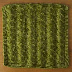 New Stitch a Day raised diamond blanket pattern free