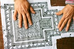 Artisan Spotlight: Hmong Tribe's Batik patterns