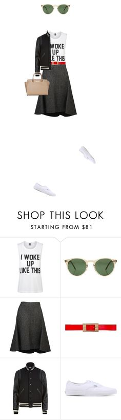 """I do what i want knowatimsayin."" by misnik ❤ liked on Polyvore featuring Private Party, Oliver Peoples, CÉLINE, Marni, Yves Saint Laurent, Vans and MICHAEL Michael Kors"