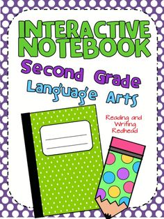 This CCSS aligned Second Grade Interactive Notebook for Language Arts focuses on writing and the building blocks your students need for improving their writing skills. Includes lessons on: nouns, verbs, adjectives, adverbs, sentences, punctuation, brainstorming, narrative writing, informational writing, opinion writing, writing fiction and MORE! Flip flaps, accordion books, cut and glue and more types of pages are included. The design and style of the Interactive Notebook is easy to read....