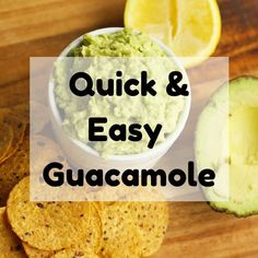 The best healthy guacamole recipe that's perfect to serve as a dip, on nachos, tacos and more! Impress your guests with this delicious homemade guacamole. Guacamole Recipe Easy, Homemade Guacamole, Dips, Healthy Eating, Healthy Meals, Base Foods, Appetizers For Party, Quick Meals, Paleo Recipes